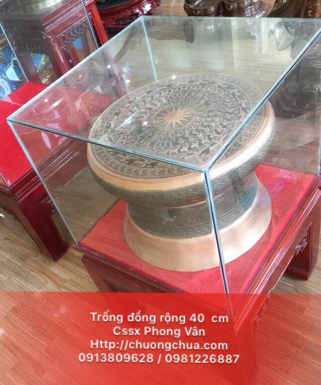 Bán chiếc trống đồng quà tặng rộng 40 cm