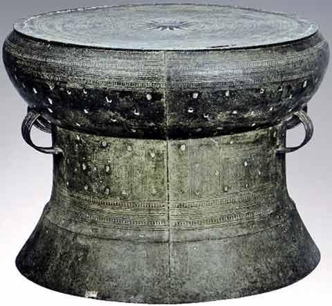 Phân loại trống đồng theo nhà khảo cổ học người Áo Franz Heger - trống Heger I