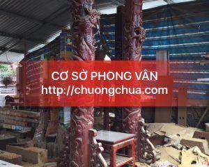 Cơ sở sản xuất giá đỡ trống chùa - giá gỗ treo chuông đồng