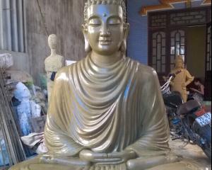 Mẫu đúc tượng Phật Bổn sư bằng đồng Huế