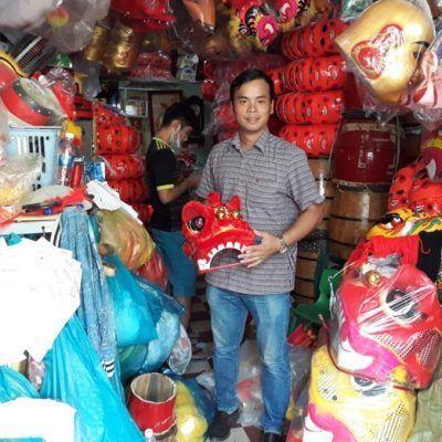 Shop bán đầu lân Phong Vân