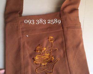 Túi xách phật tử, tay nải, túi đeo đi chùa, túi vải