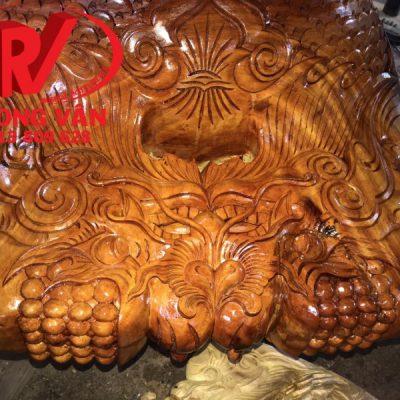 Mõ tụng kinh gỗ mít huế 14 tay 15 tay 80 cm