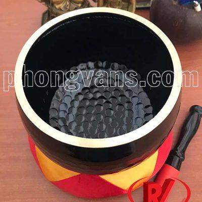 Chuông đen vân lục giác 8in đài loan
