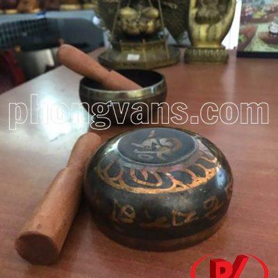 Chuông đồng xoay Tây Tạng 9.5cmdata-cloudzoom =