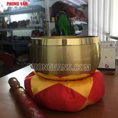 Chuông Đài Loan vàng viền trơn 8in