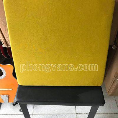 Nệm ngồi thiền màu vàng
