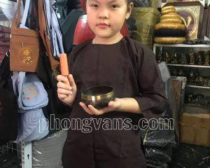 Quần áo vạt hò cho em bé