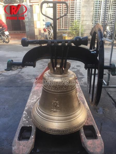 Đúc chuông nhà thờ công giáo 150 kg