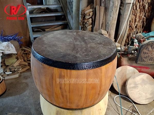 Trống cái gỗ mít lõi 44 cm