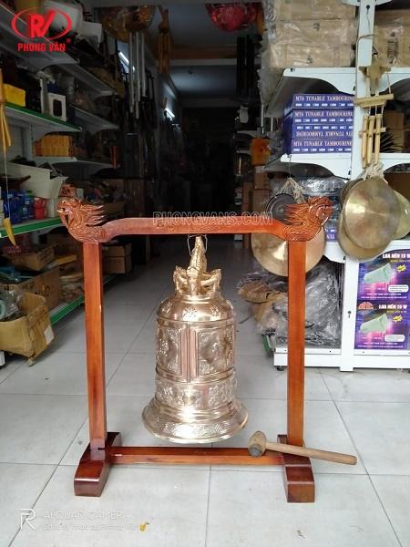 Chuông đồng cao 60cm