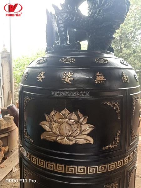 Chuông đồng 1 tấn cao 2m cho Đài liệt sĩ