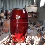Trống chùa gỗ mít ghép mặt 60 cm