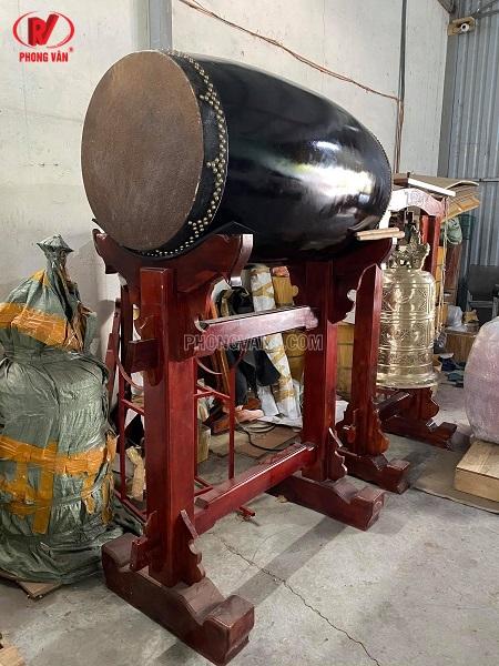 Trống chùa bát nhã rộng 60cm dài 120 cm