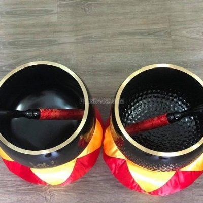 Chuông Đài Loan 12 inch màu đen